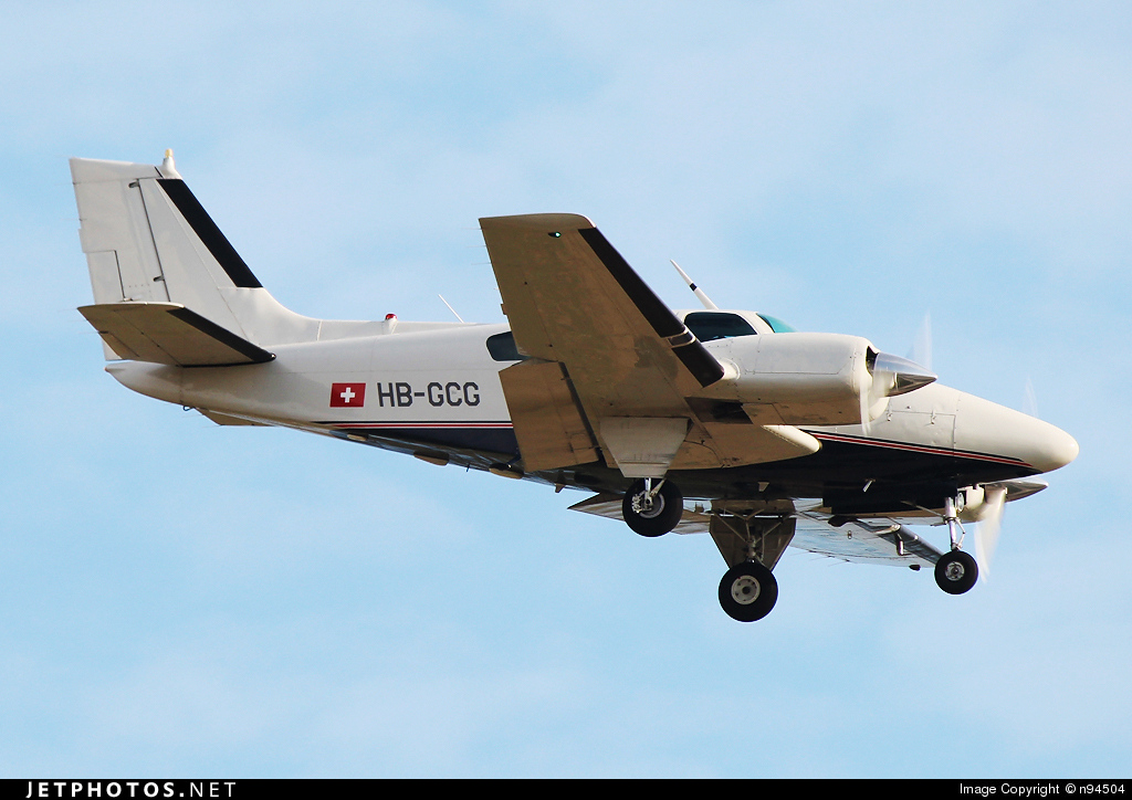 HB-GCG - Beechcraft 95-B55 Baron - Private