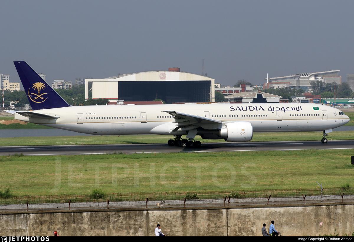 HZ-AK25 - Boeing 777-368ER - Saudi Arabian Airlines