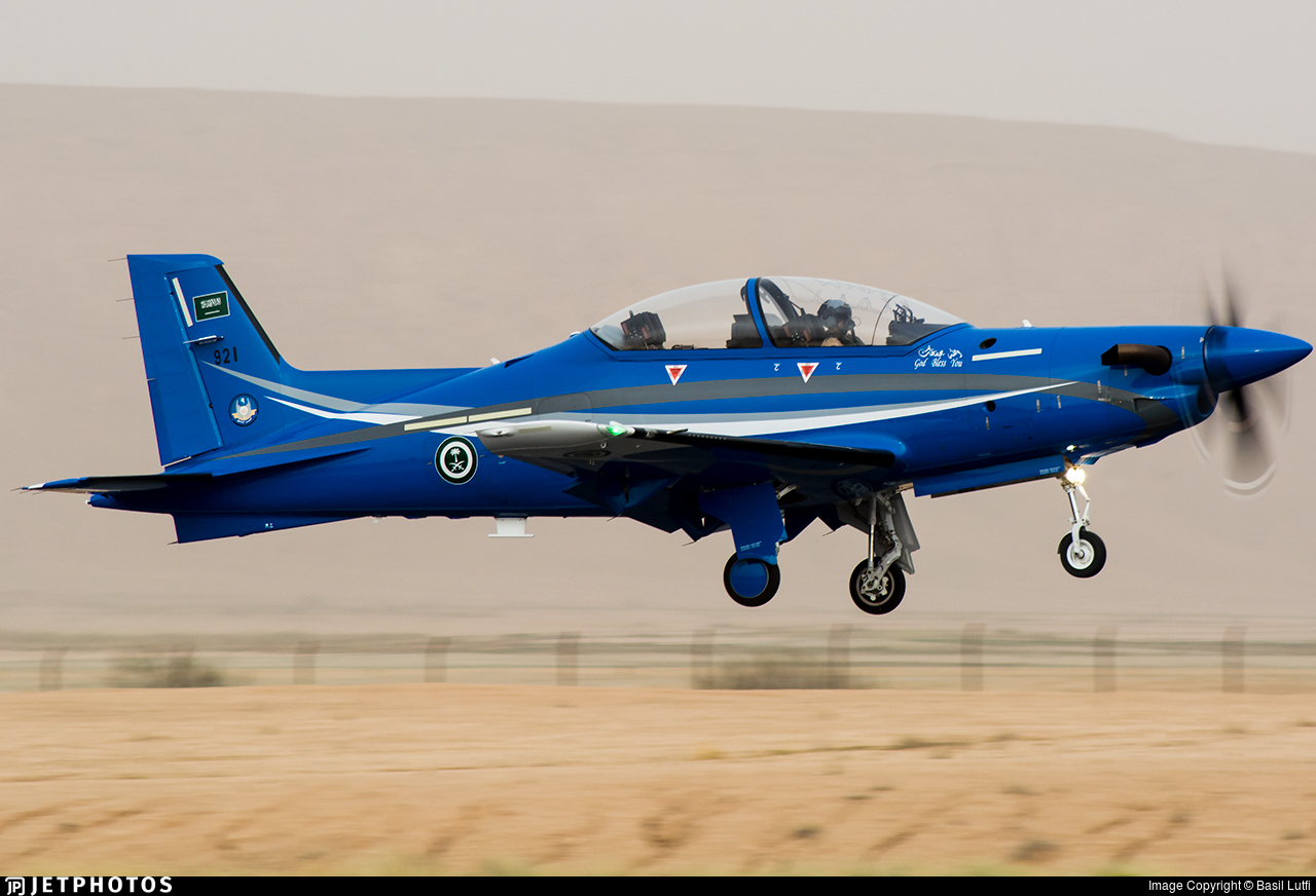 921 - Pilatus PC-21 - Saudi Arabia - Air Force