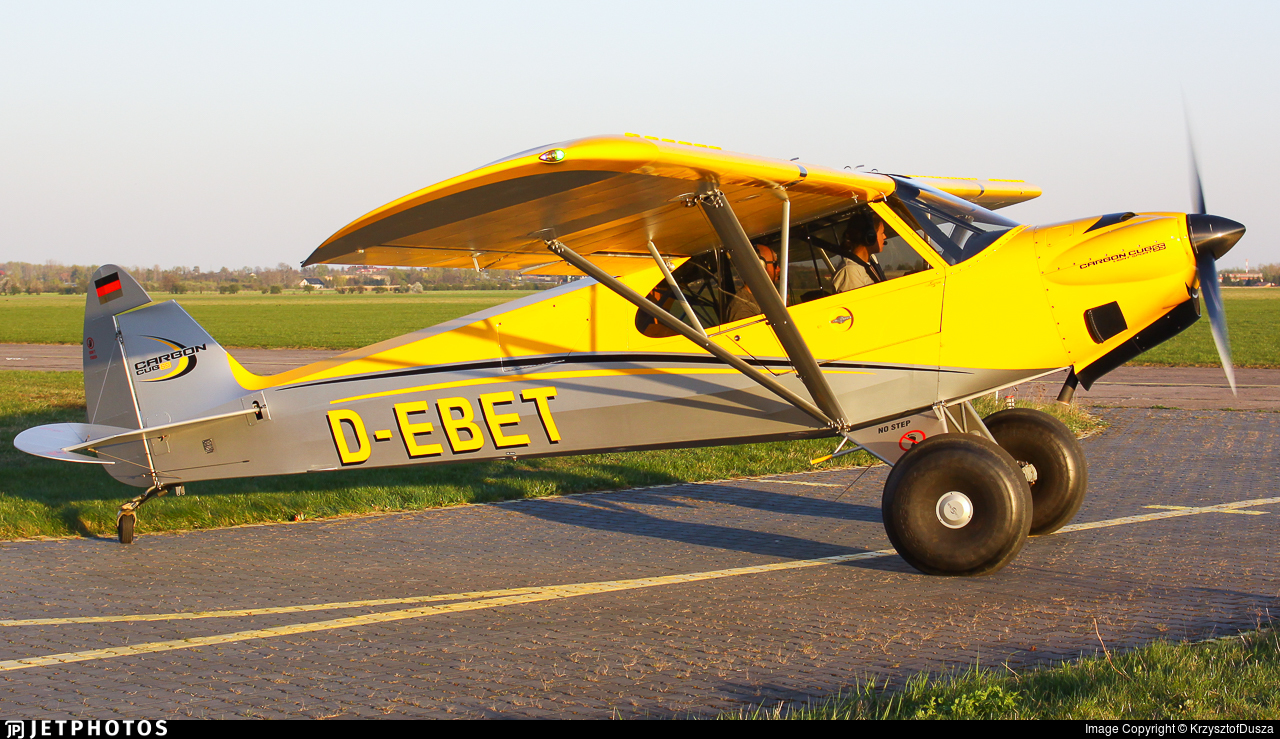 D-EBET | Cub Crafters CC-11-160 Carbon Cub SS | Private
