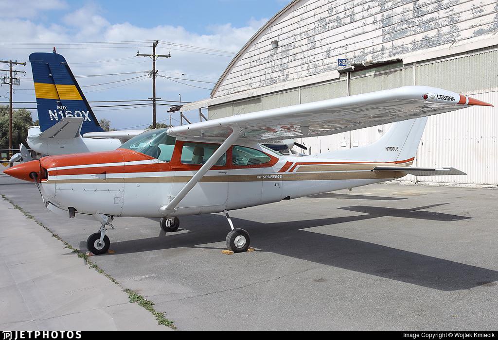 N756UE - Cessna TR182 Turbo Skylane RG - Private