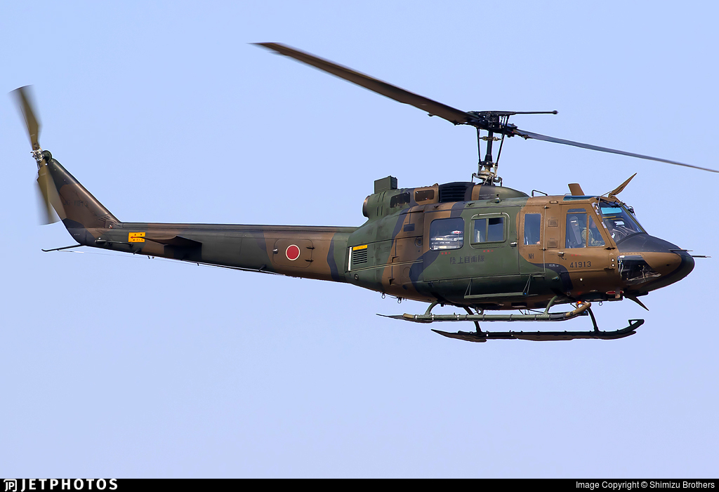 41913 - Bell UH-1J Huey - Japan - Ground Self Defence Force (JGSDF)