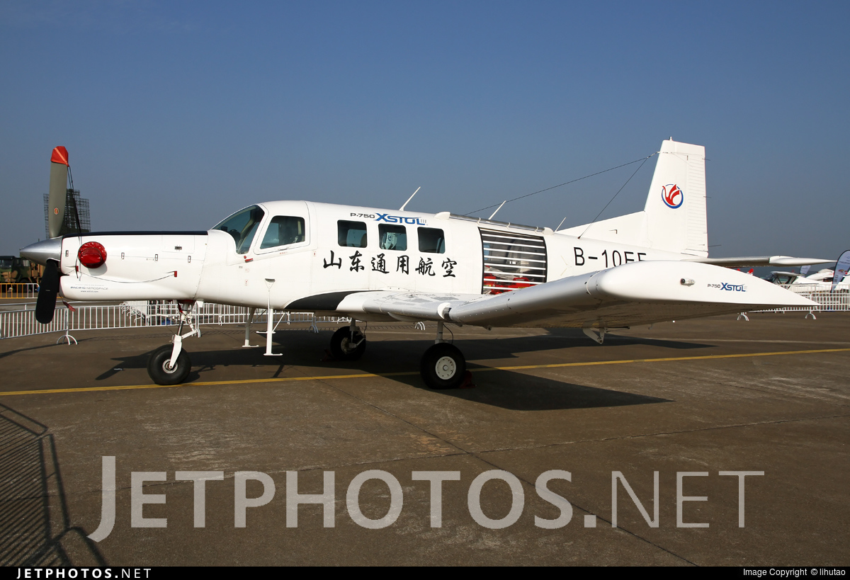 B-10EF | Pacific Aerospace P-750 XSTOL | Shandong General