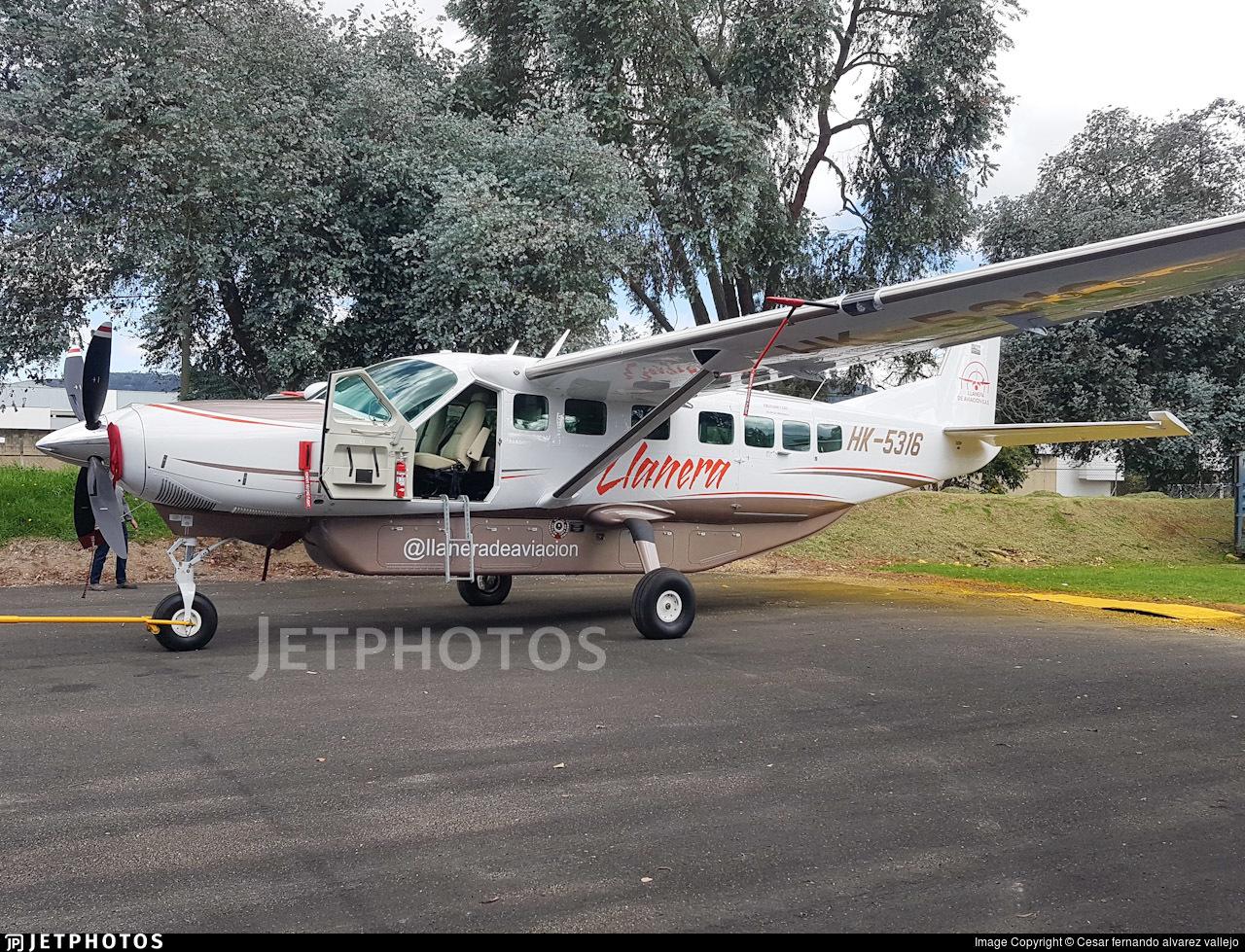 HK-5316  - Cessna 208B Grand Caravan EX - Llanera de Aviación