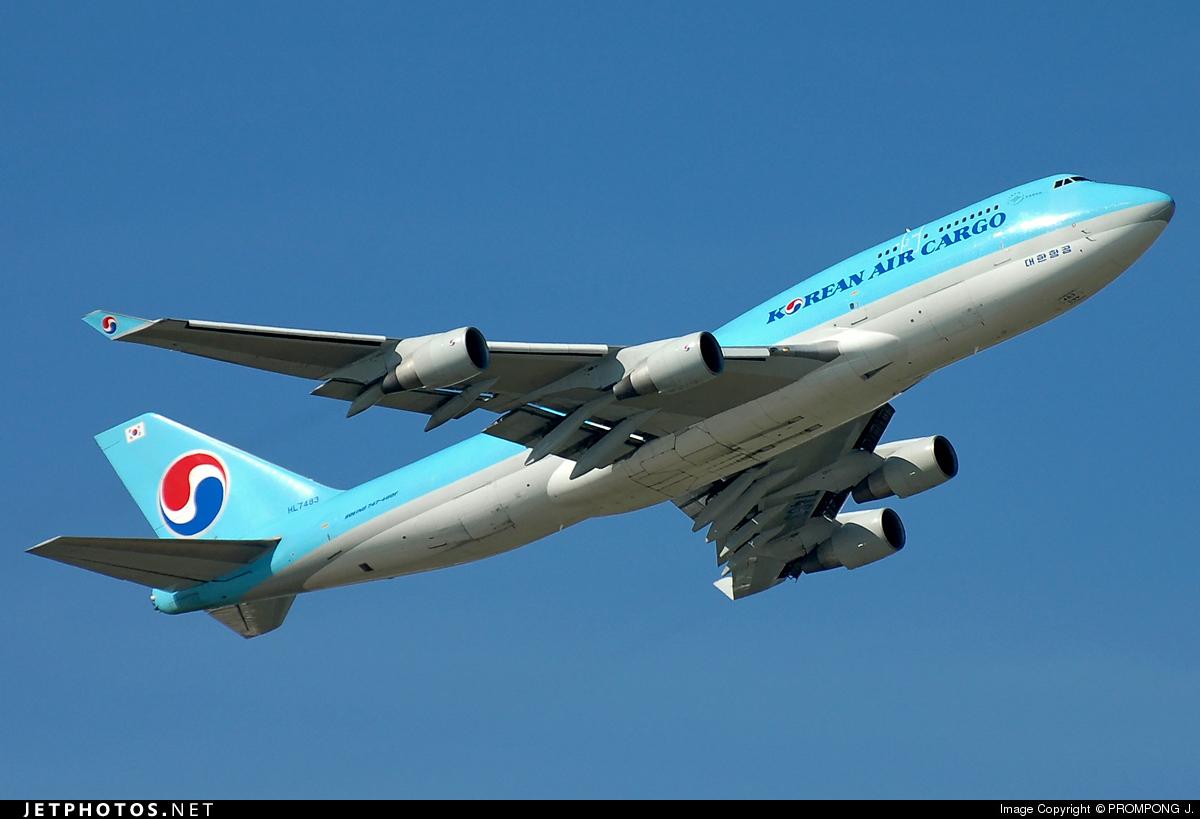 HL7483 - Boeing 747-4B5(BCF) - Korean Air Cargo
