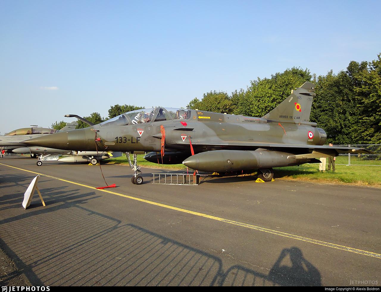 605 - Dassault Mirage 2000D - France - Air Force