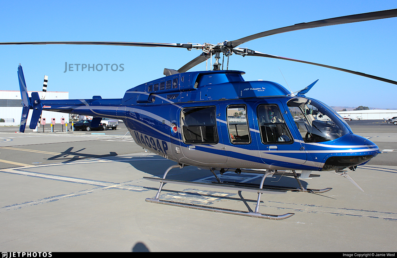 N409AP - Bell 407 - A&P Helicopters
