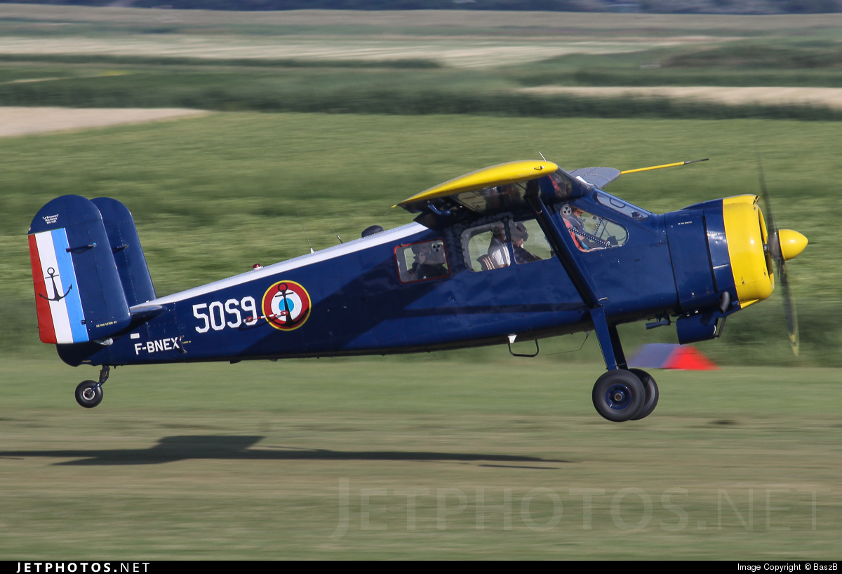 F-BNEX - Max Holste MH-1521 Broussard - Private