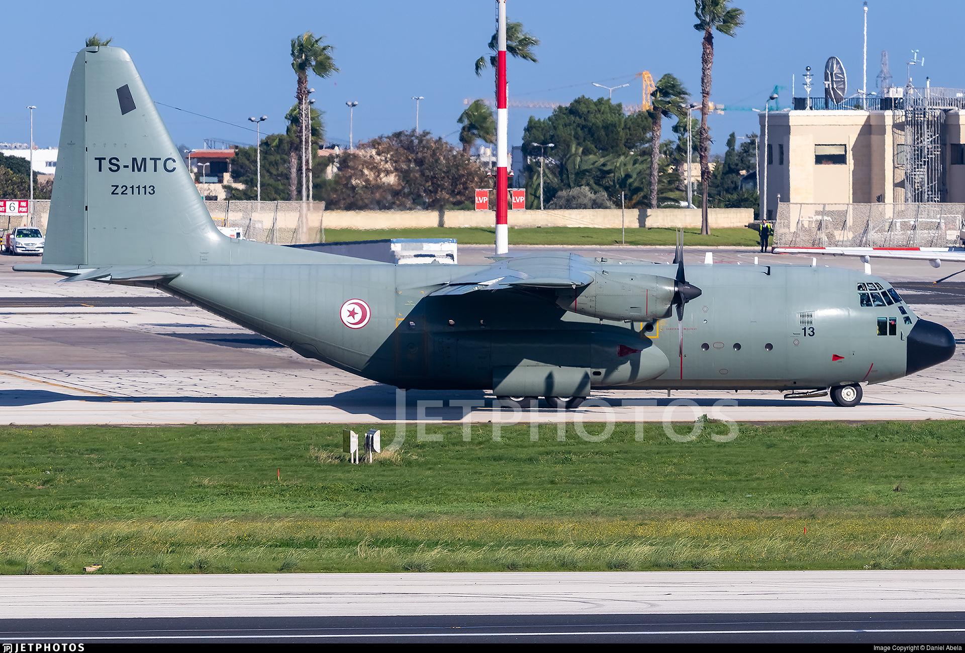 Z21113 - Lockheed C-130B Hercules - Tunisia - Air Force