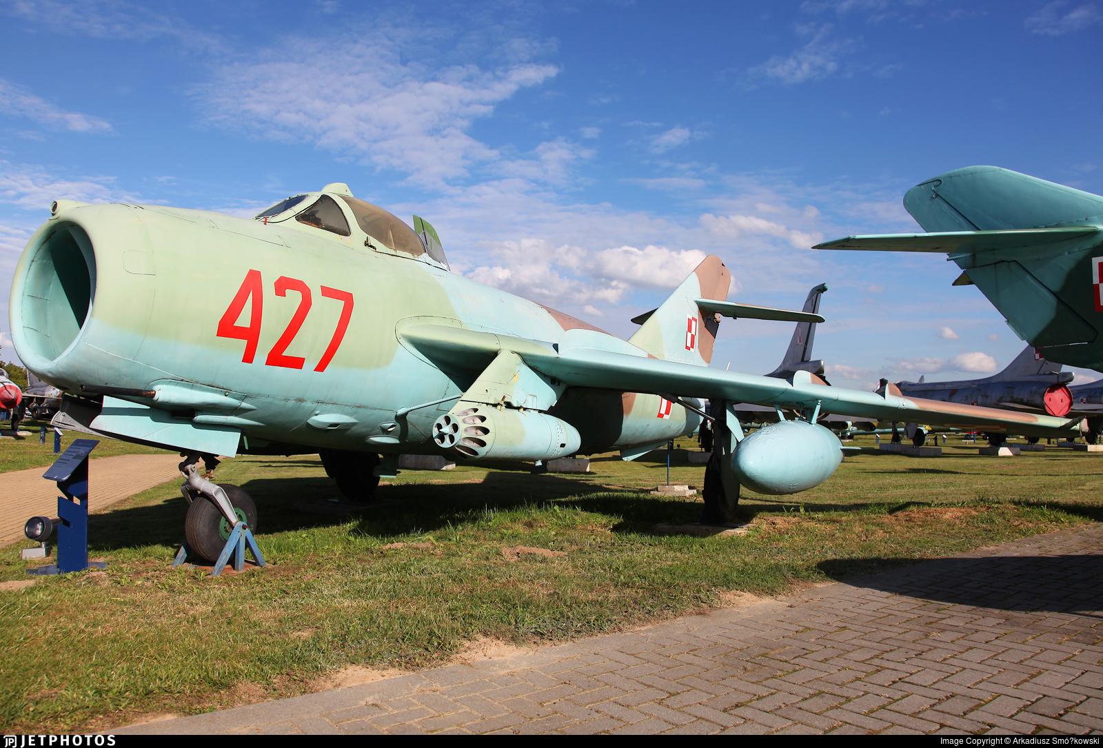 427 - WSK-Mielec Lim-6bis - Poland - Air Force