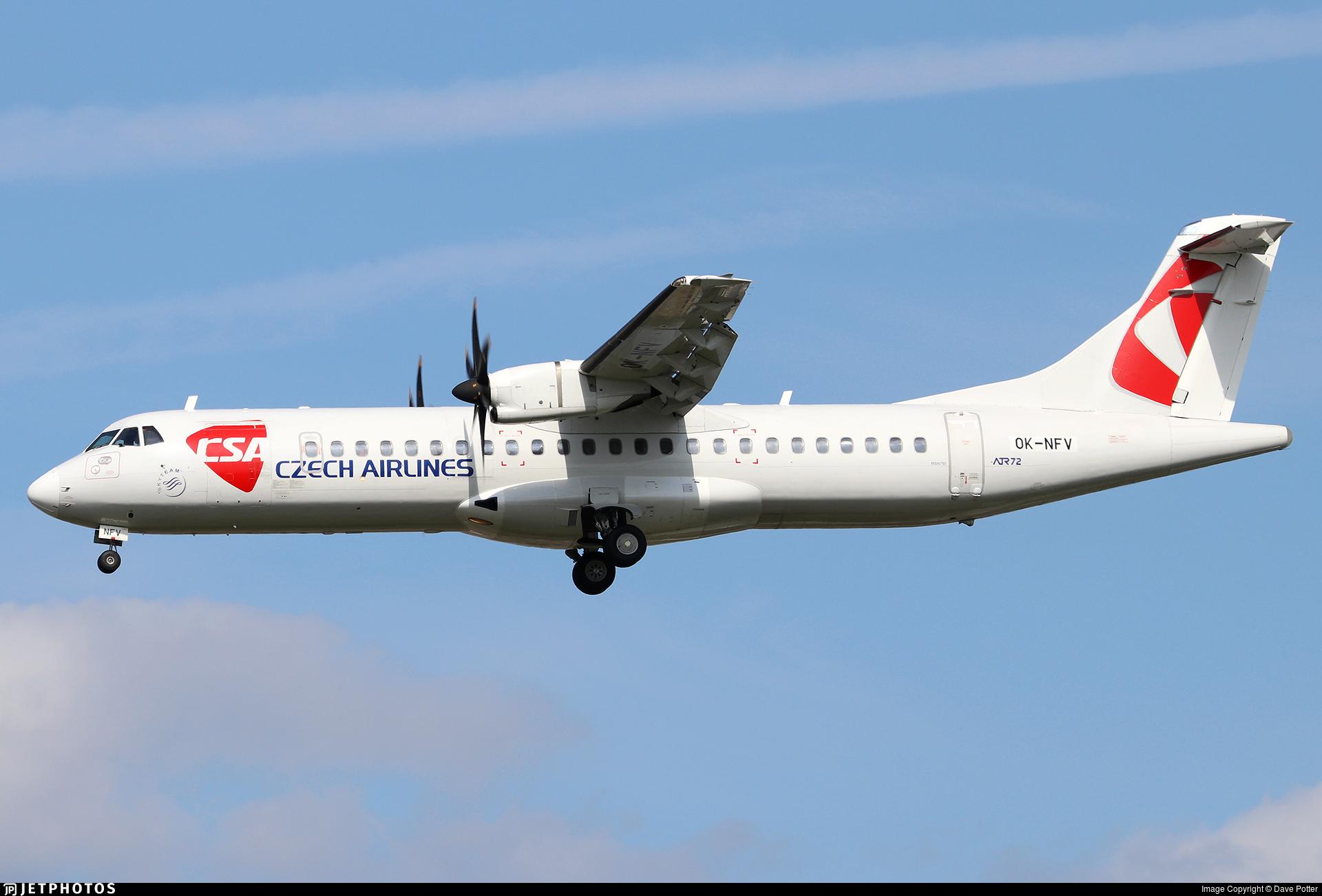 OK-NFV - ATR 72-212A(500) - CSA Czech Airlines