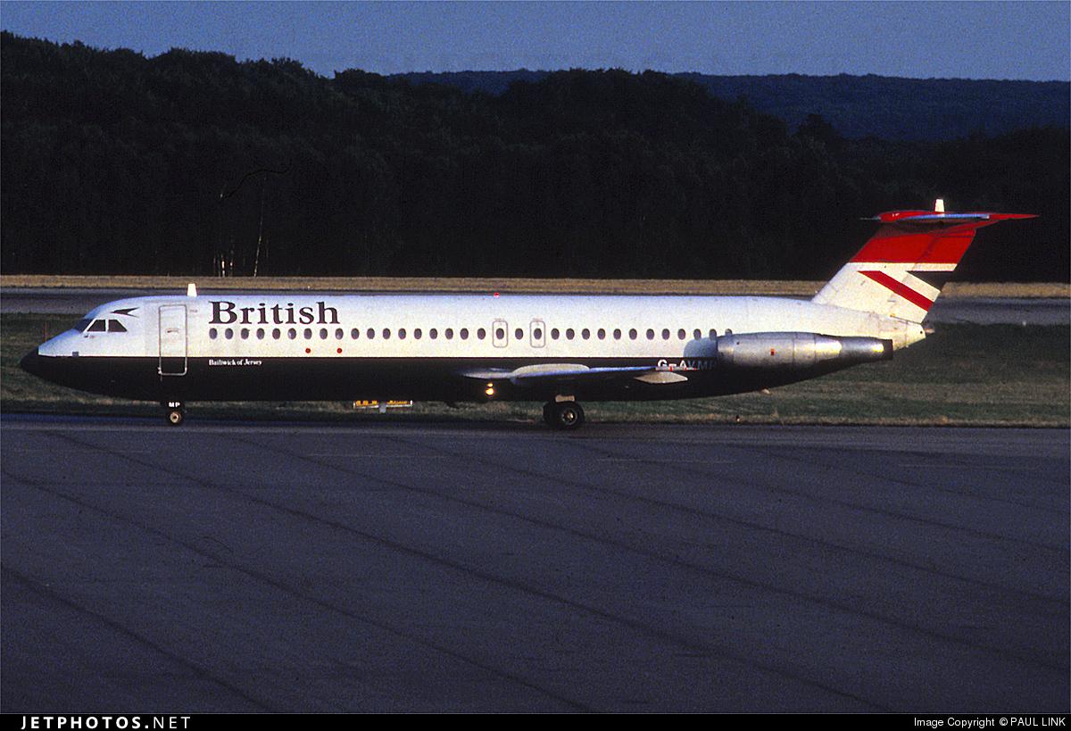G-AVMP - British Aircraft Corporation BAC 1-11 Series 510ED - British Airways
