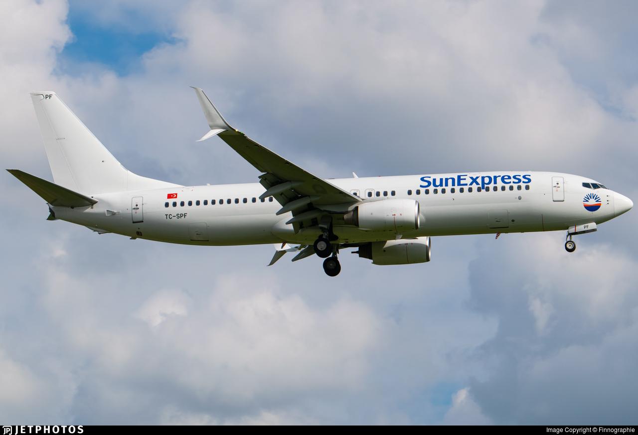 TC-SPF - Boeing 737-8K5 - SunExpress