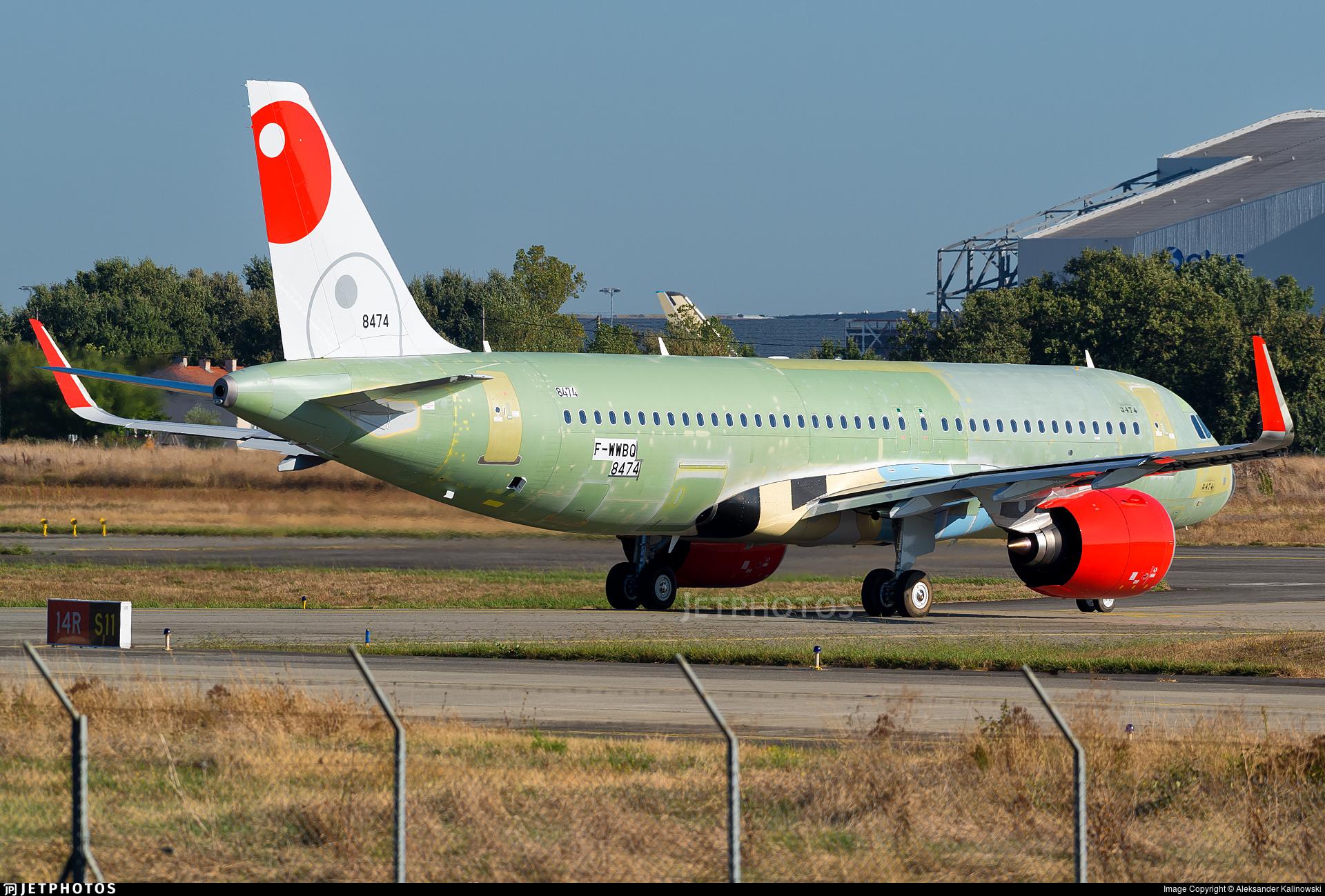 F-WWBQ - Airbus A320-251N - Airbus Industrie