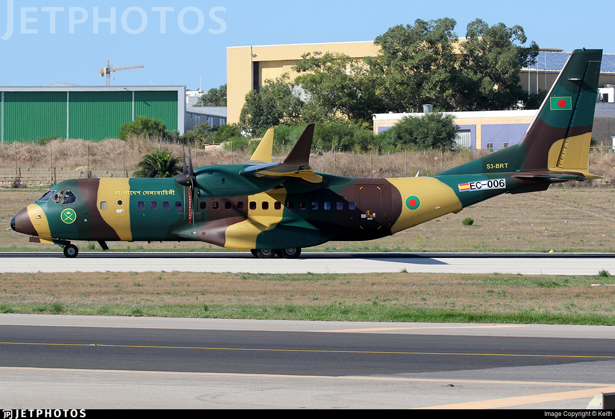 EC-006 - Airbus C295W - Bangladesh - Army Aviation