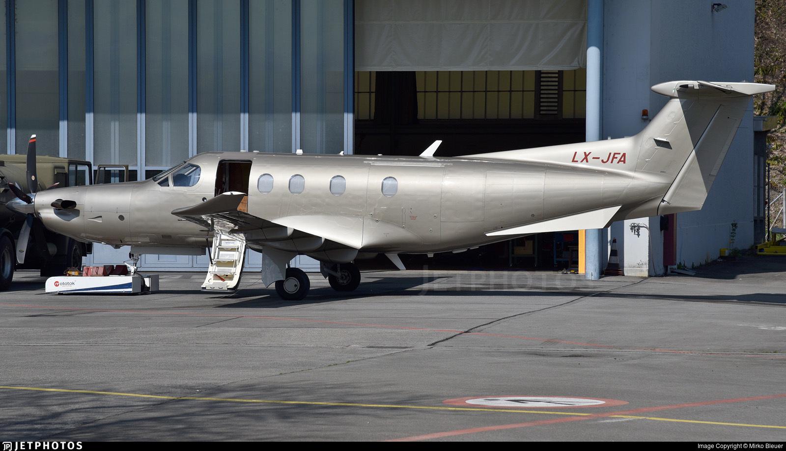 LX-JFA - Pilatus PC-12/47E - Jetfly Aviation