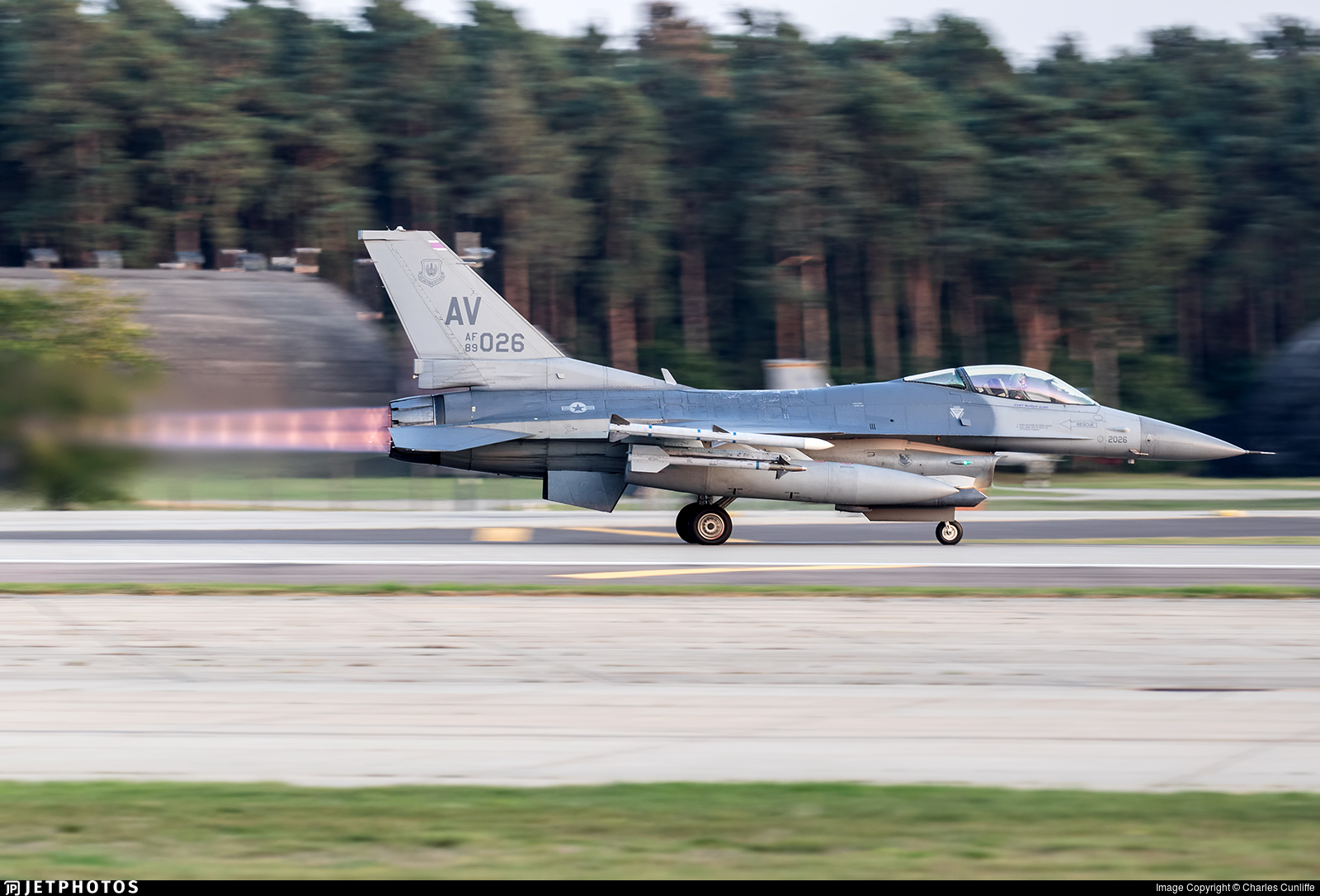 89-2026 - General Dynamics F-16C Fighting Falcon - United States - US Air Force (USAF)