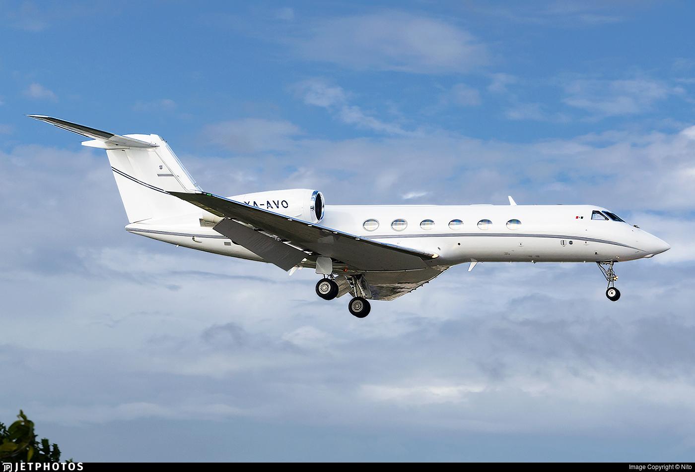 XA-AVO - Gulfstream G450 - Private