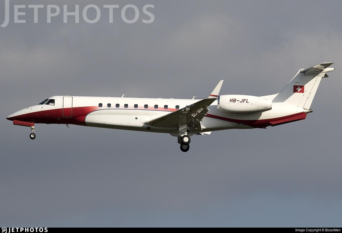 HB-JFL - Embraer ERJ-135BJ Legacy 600 - Nomad Aviation