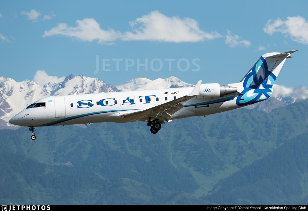 UP-CJ011 - Bombardier CRJ-200ER - Scat Air Company