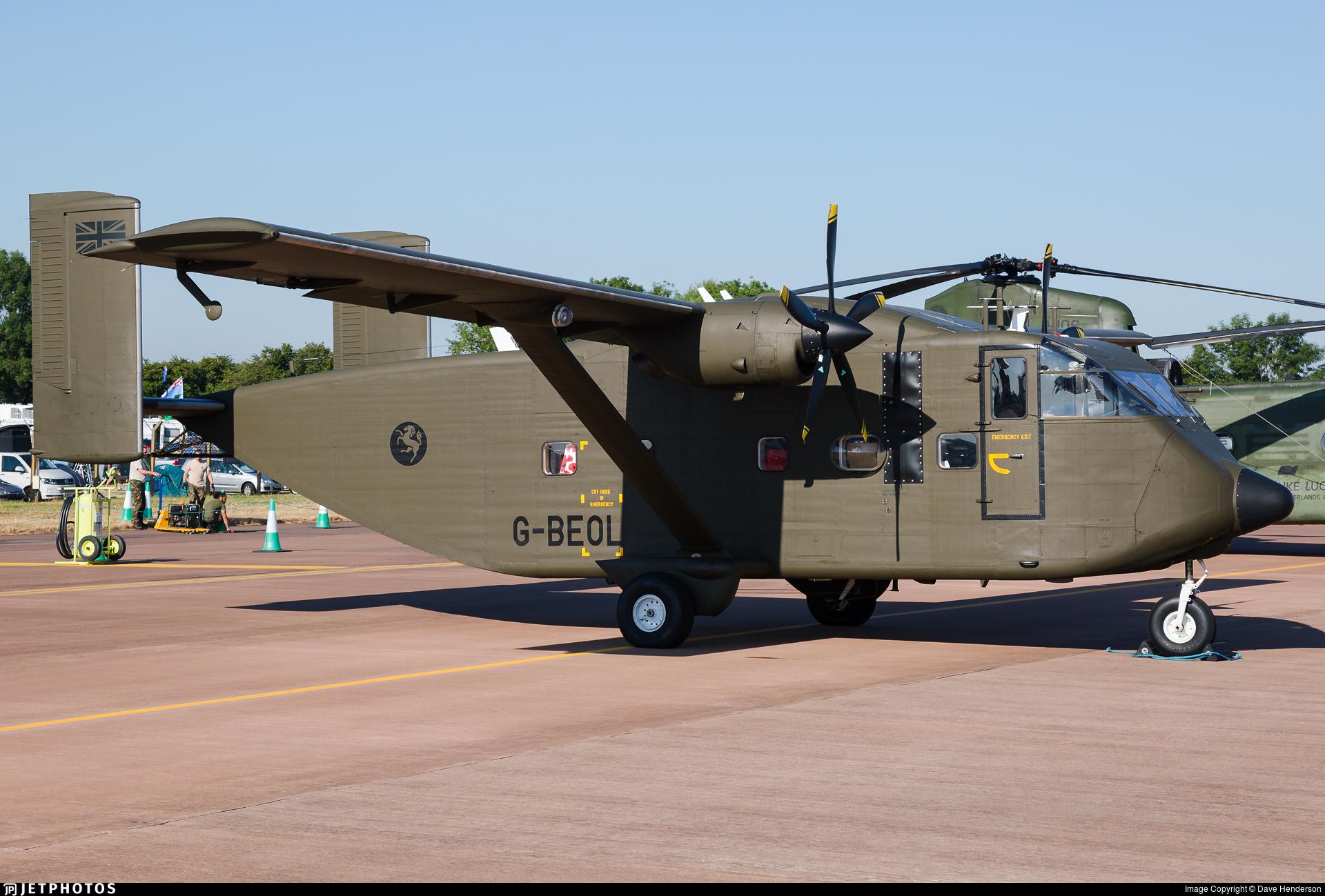G-BEOL - Short SC-7 Skyvan 3-100 - Eureka Aviation