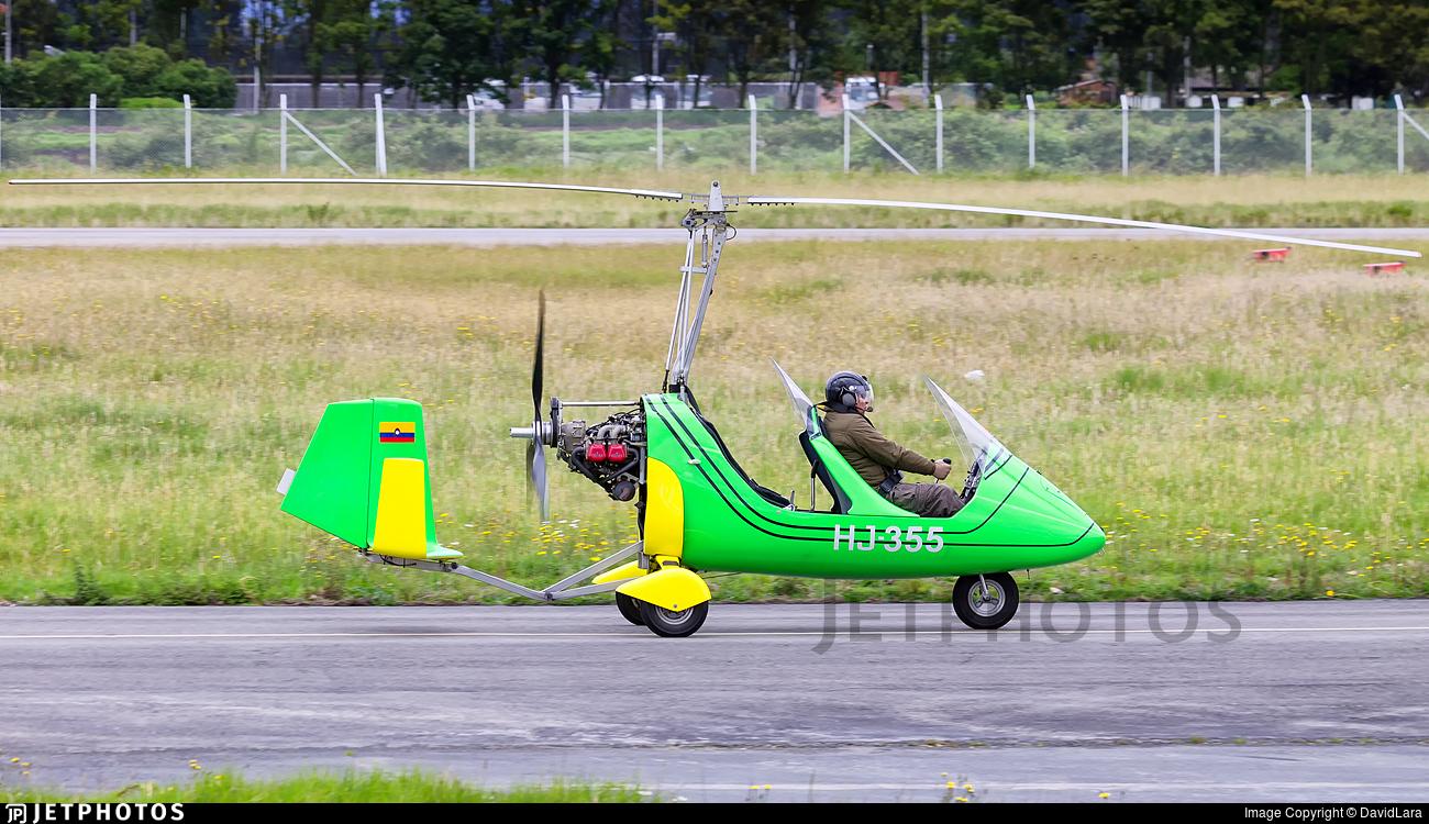 HJ-355 - Autogyro Europe MTOsport - Private