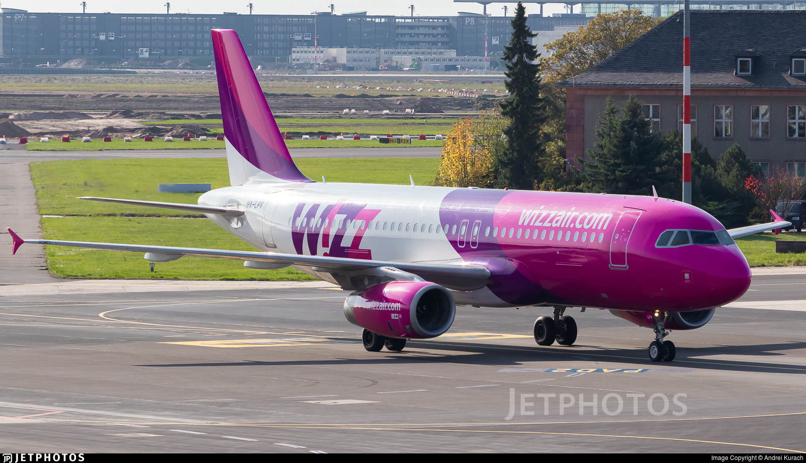 HA-LPV - Airbus A320-232 - Wizz Air