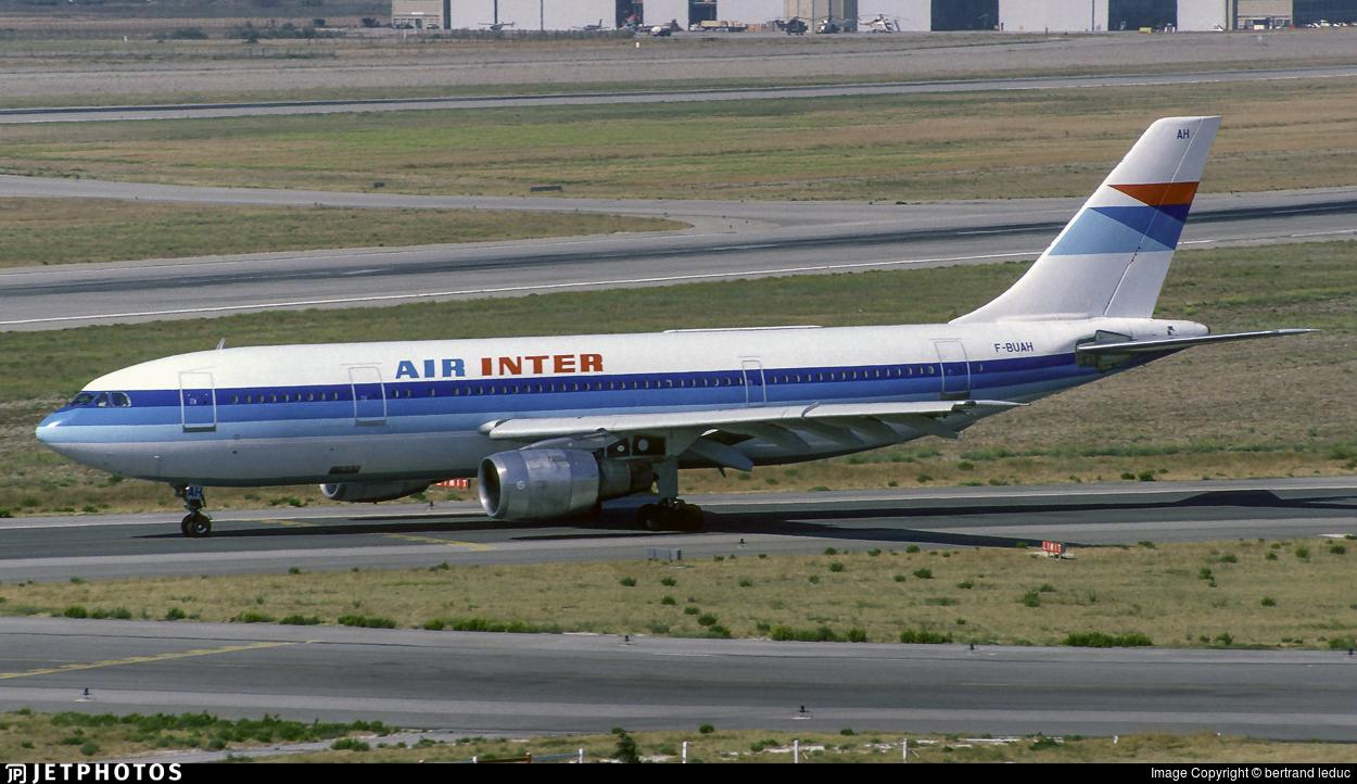 F-BUAH - Airbus A300B2-1C - Air Inter