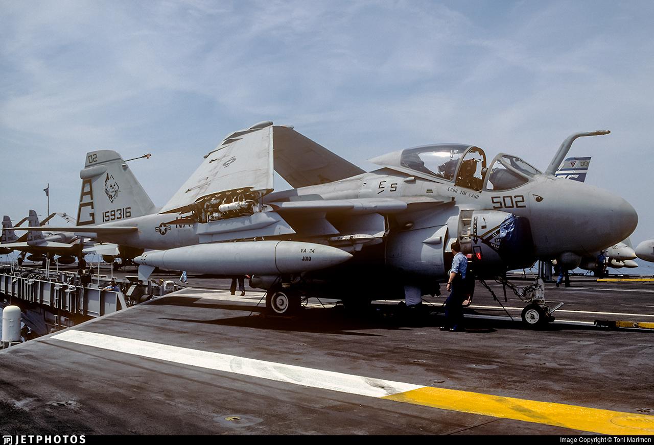 159316 - Grumman A-6E Intruder - United States - US Navy (USN)