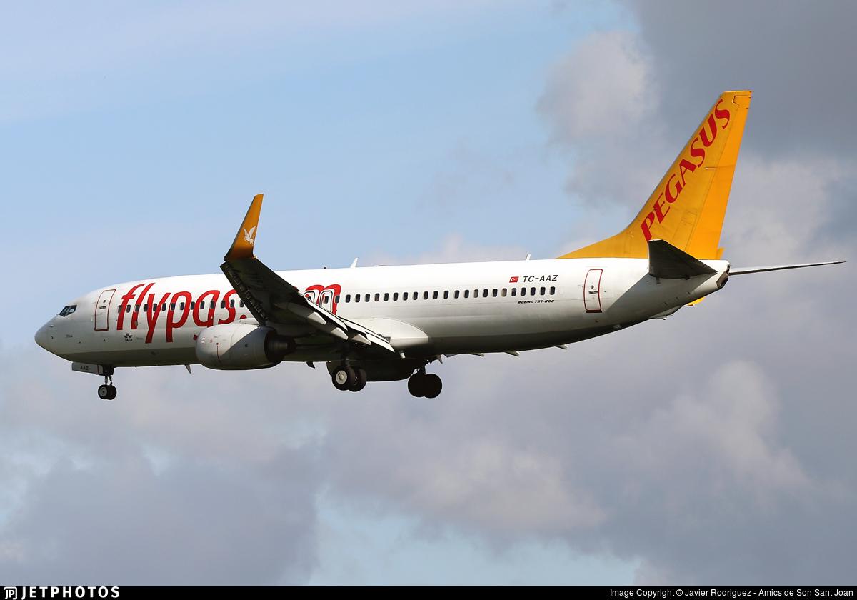 TC-AAZ - Boeing 737-82R - Pegasus Airlines