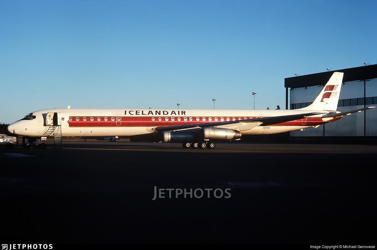HS-TGX - Douglas DC-8-63 - Icelandair