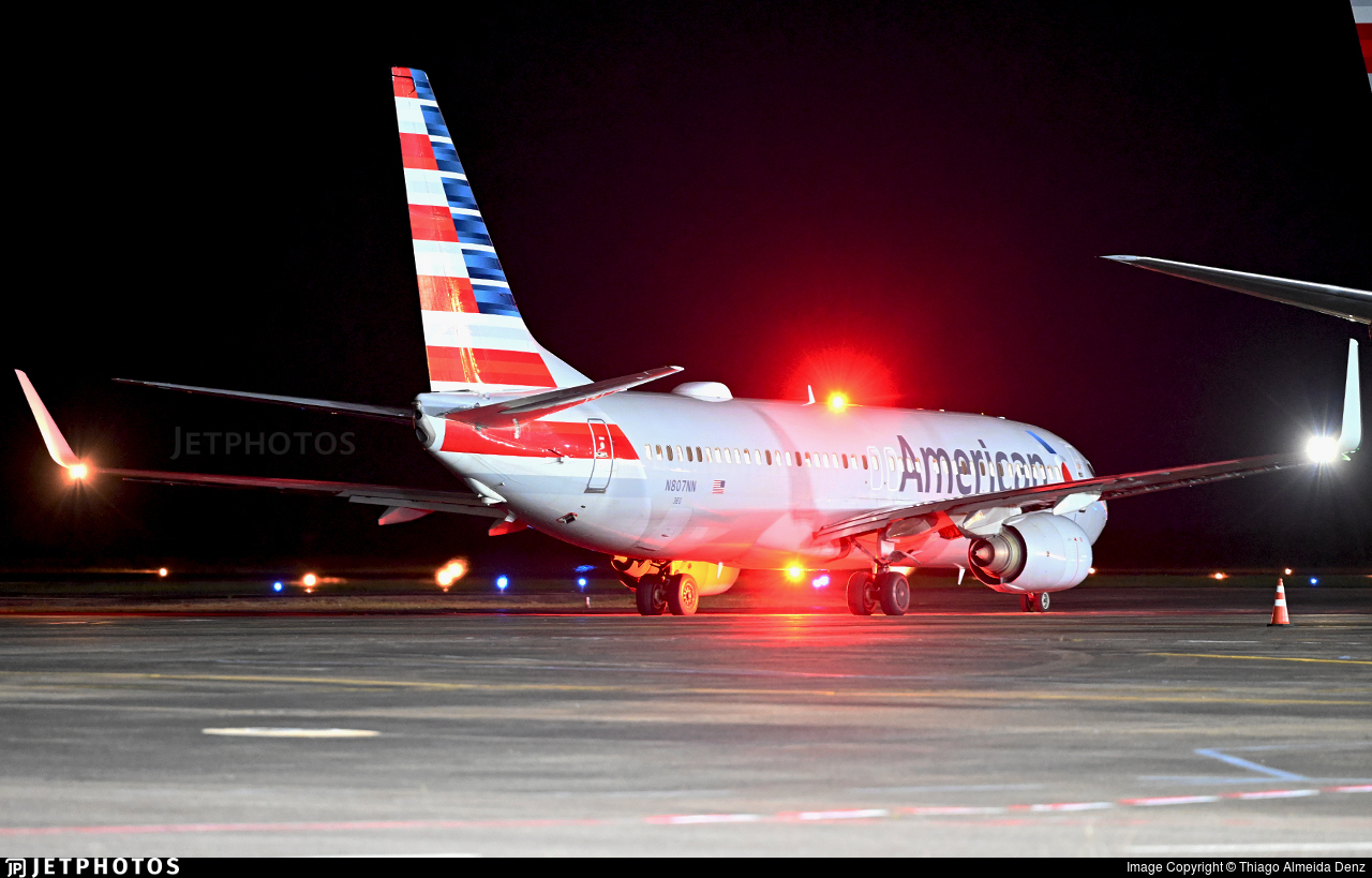 N807NN - Boeing 737-823 - American Airlines