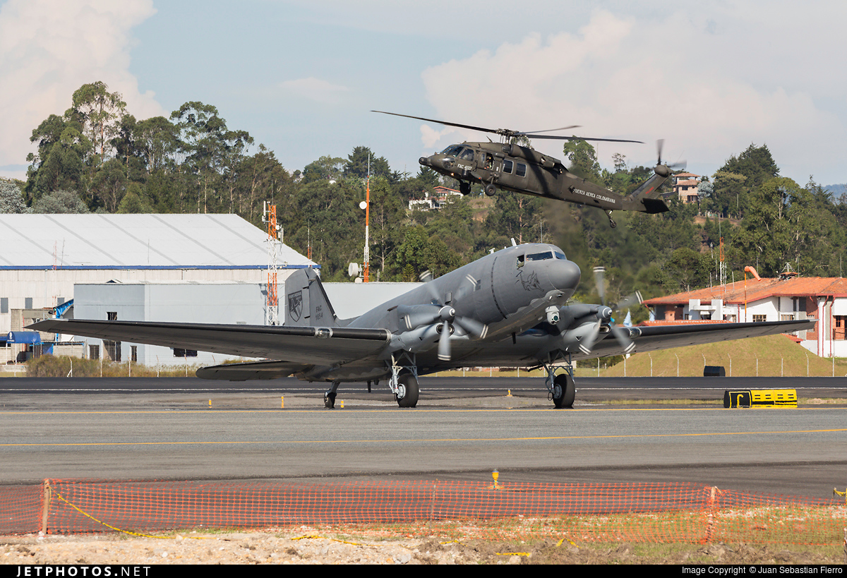 FAC1654 - Basler AC-47T Fantasma - Colombia - Air Force