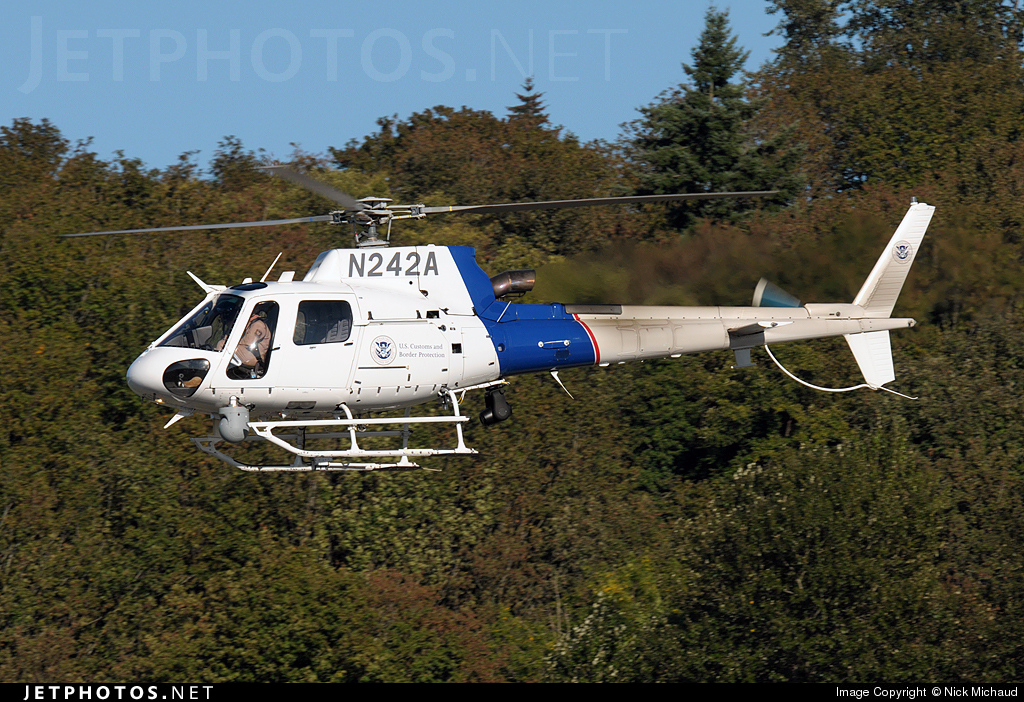 N242A - Eurocopter AS 350B3 Ecureuil - United States - US Customs Service