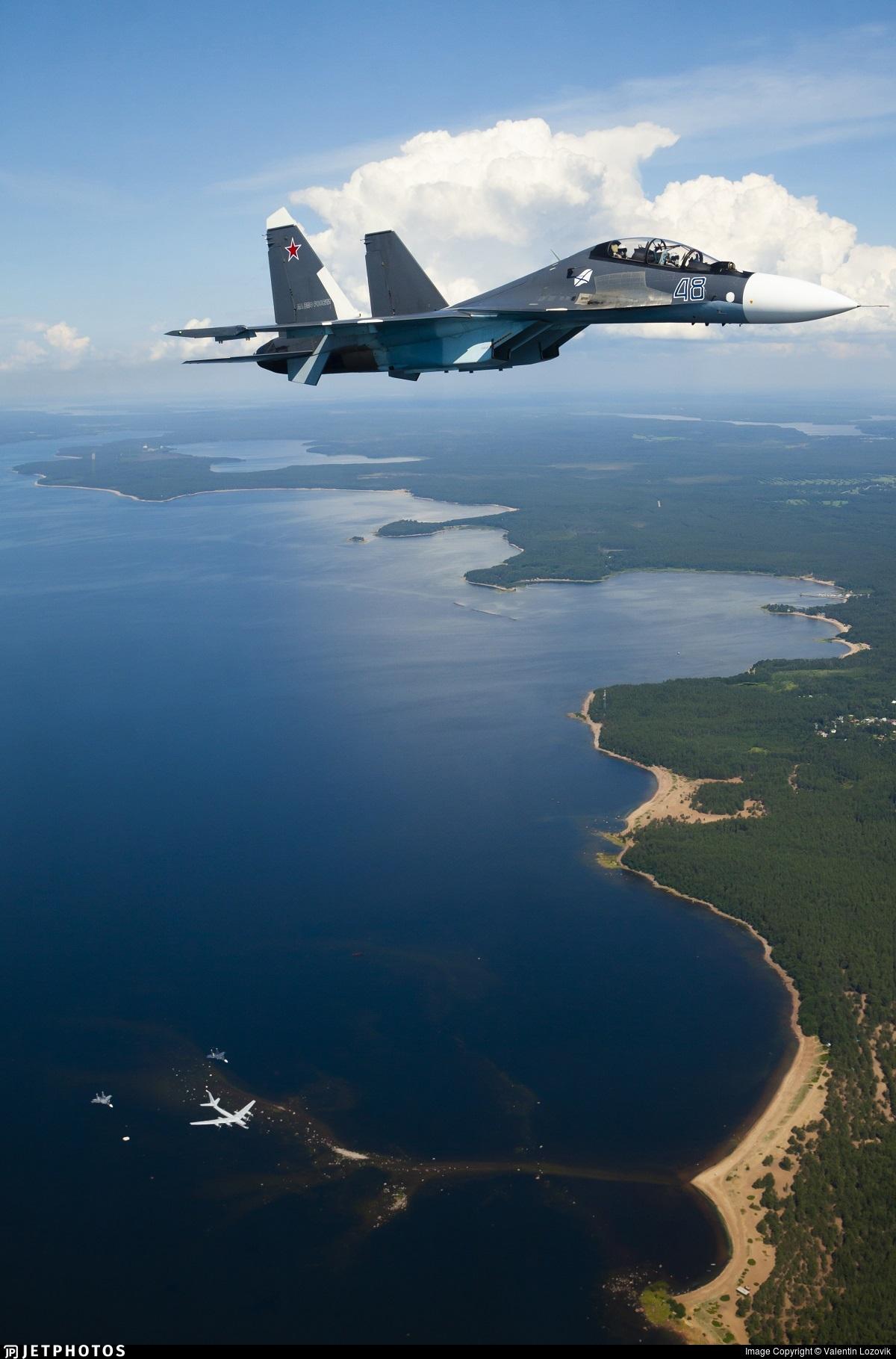 48 - Sukhoi Su-30SM - Russia - Navy