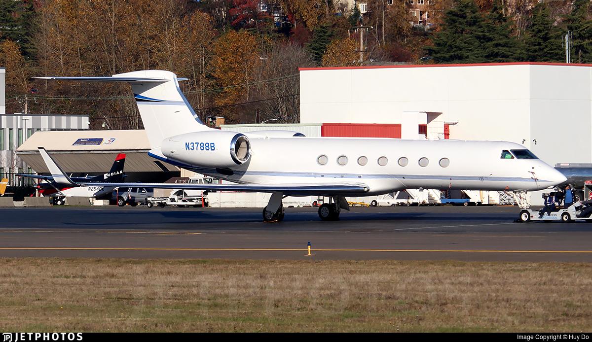 N3788B - Gulfstream G550 - Private