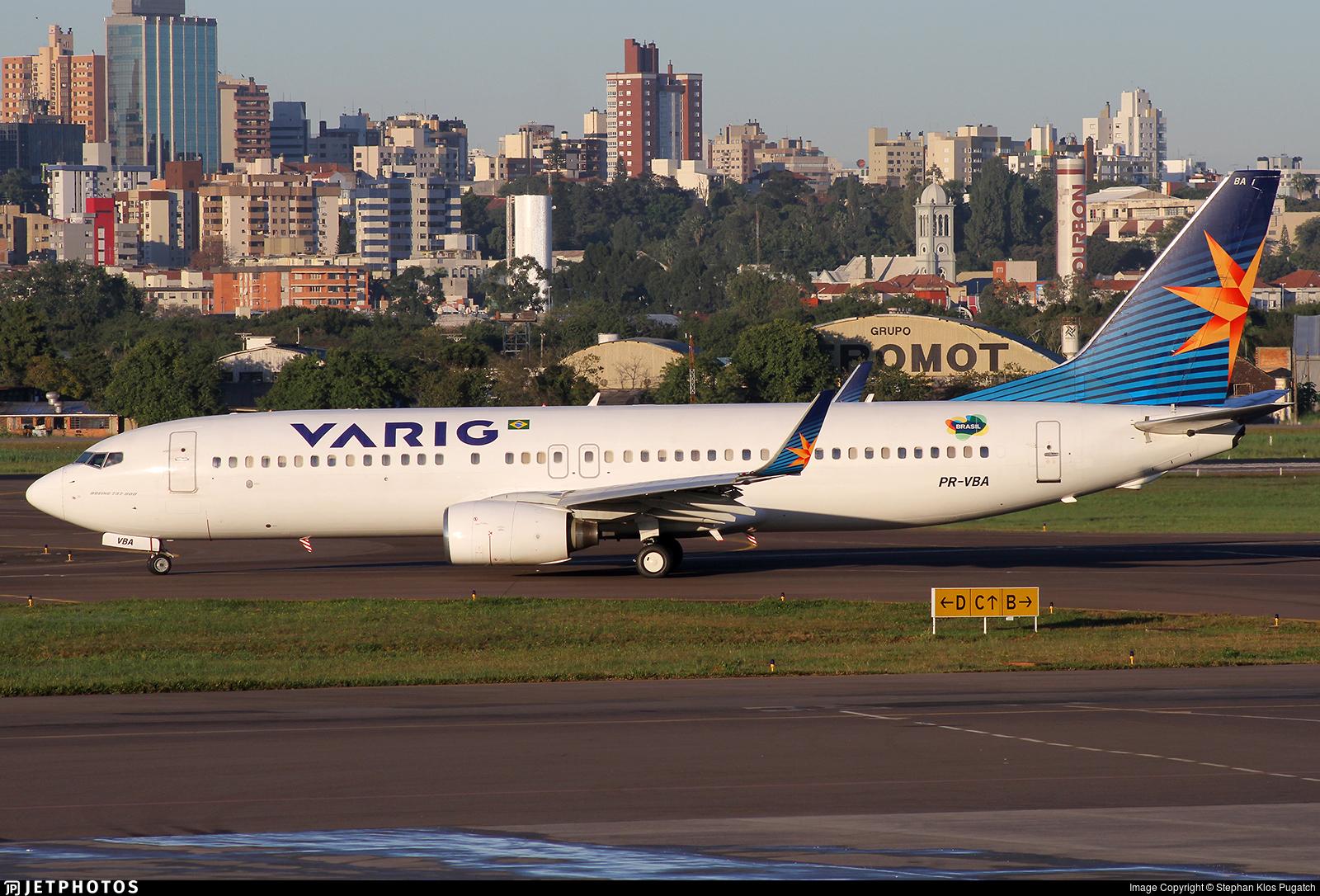 PR-VBA - Boeing 737-8AS - Varig