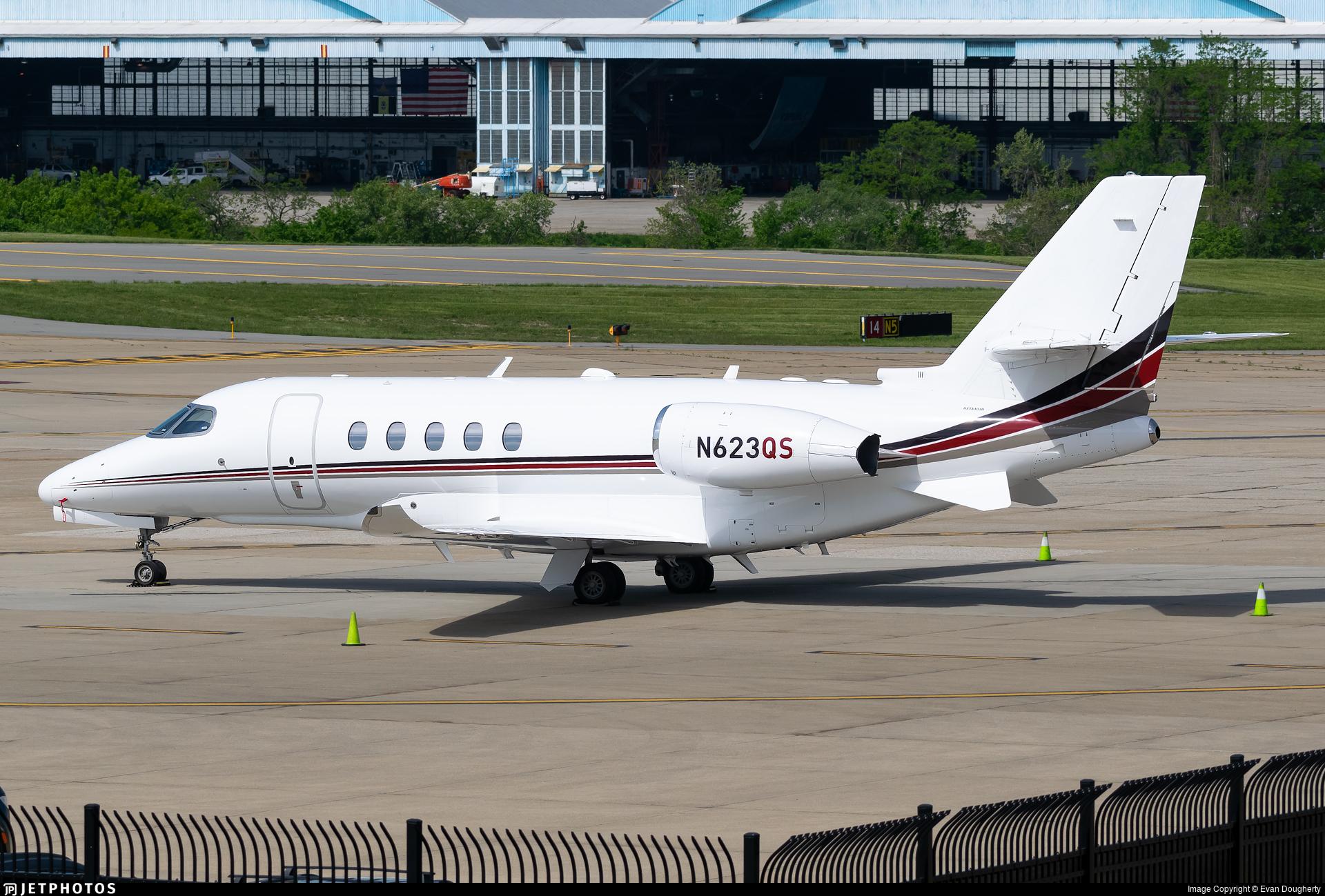 N623QS - Cessna Citation Latitude - NetJets Aviation