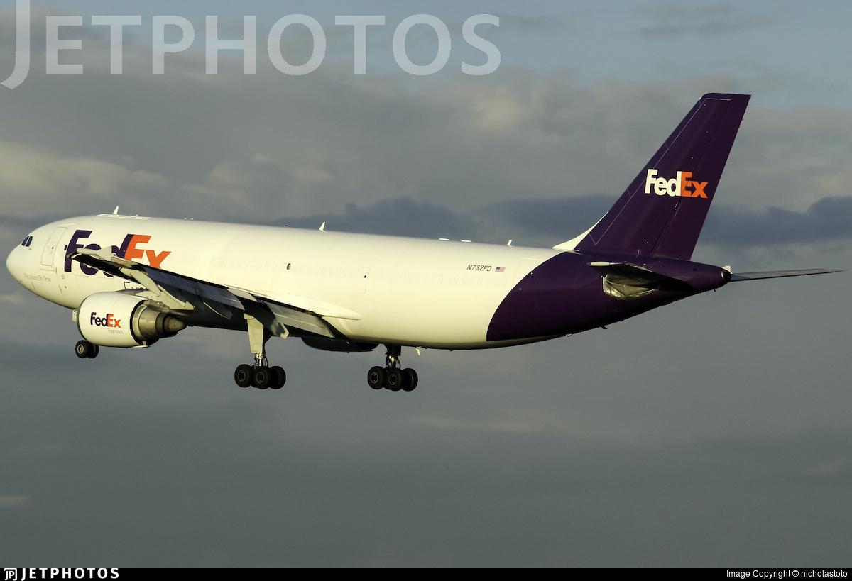 N732FD - Airbus A300B4-605R(F) - FedEx