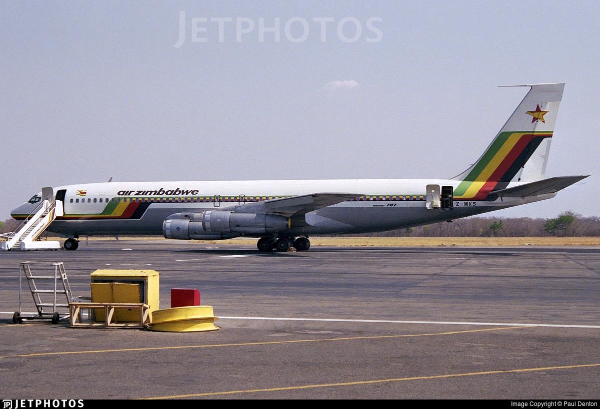 Z-WKS - Boeing 707-330B - Air Zimbabwe