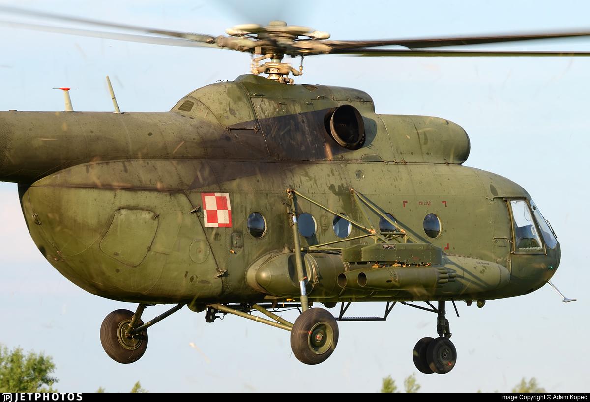 642 - Mil Mi-8T Hip - Poland - Army