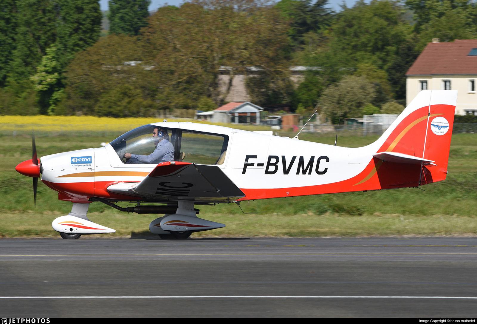 F-BVMC - Robin DR400/180 Régent - Aero Club - Versailles