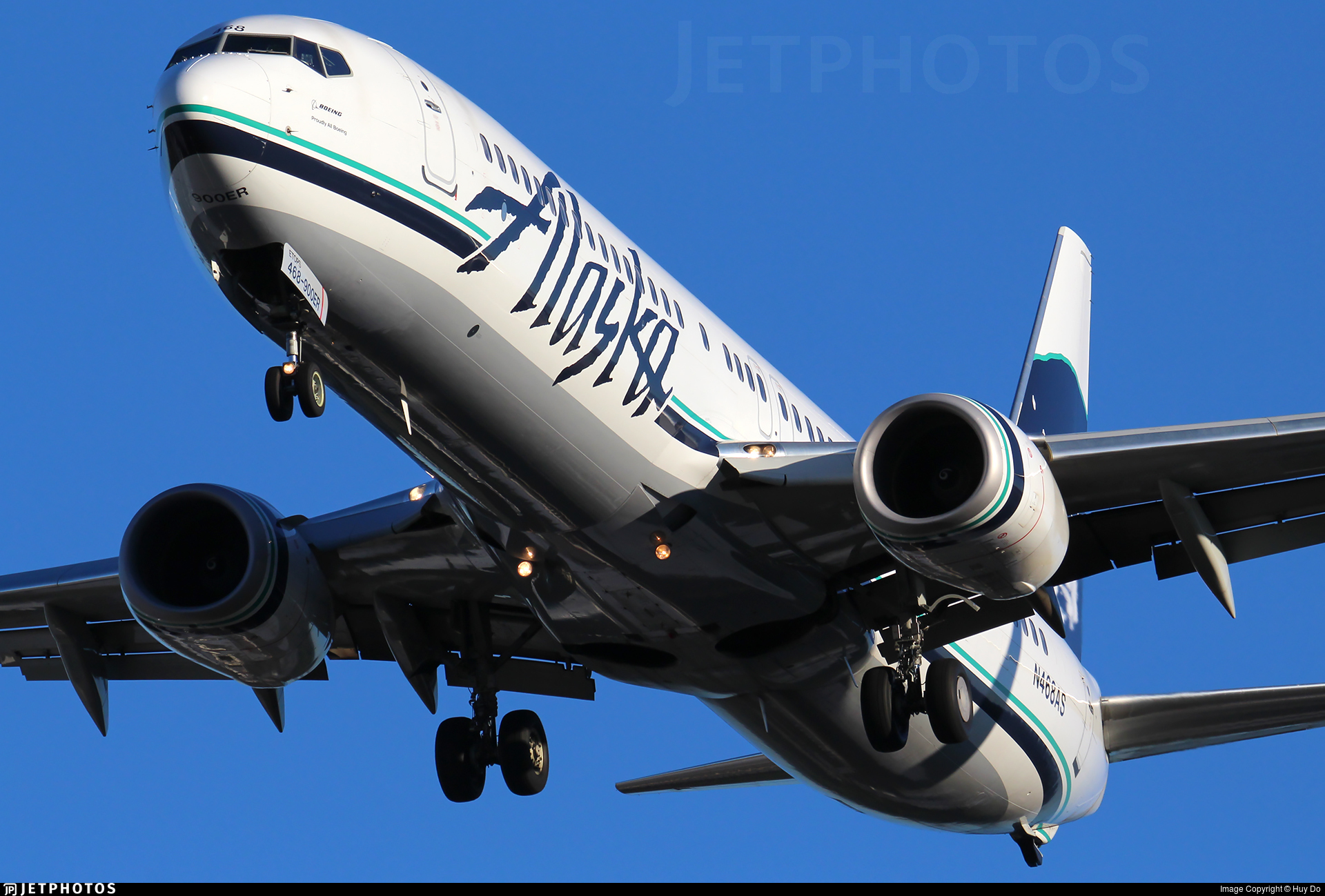 N468AS - Boeing 737-990ER - Alaska Airlines