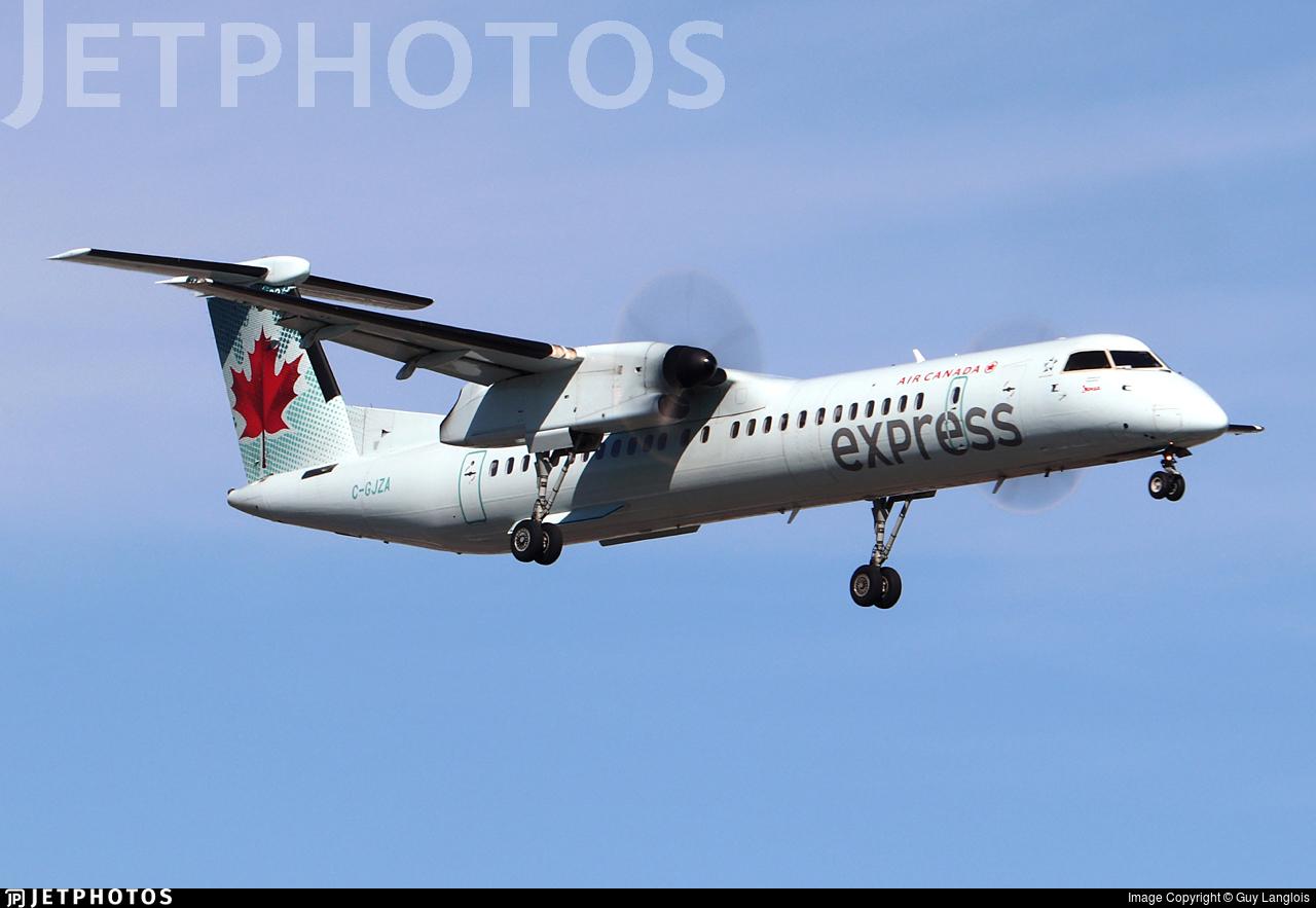 C-GJZA - Bombardier Dash 8-Q402 - Air Canada Express (Jazz Aviation)