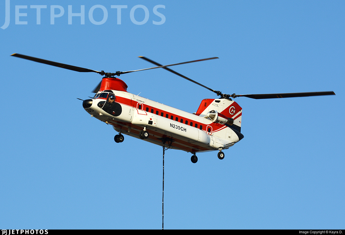 N235CH - Boeing Vertol 234 - Colombia Helicopters