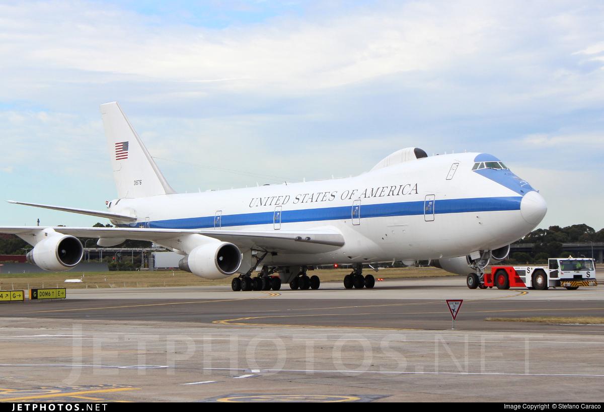 73-1676 - Boeing E-4B - United States - US Air Force (USAF)