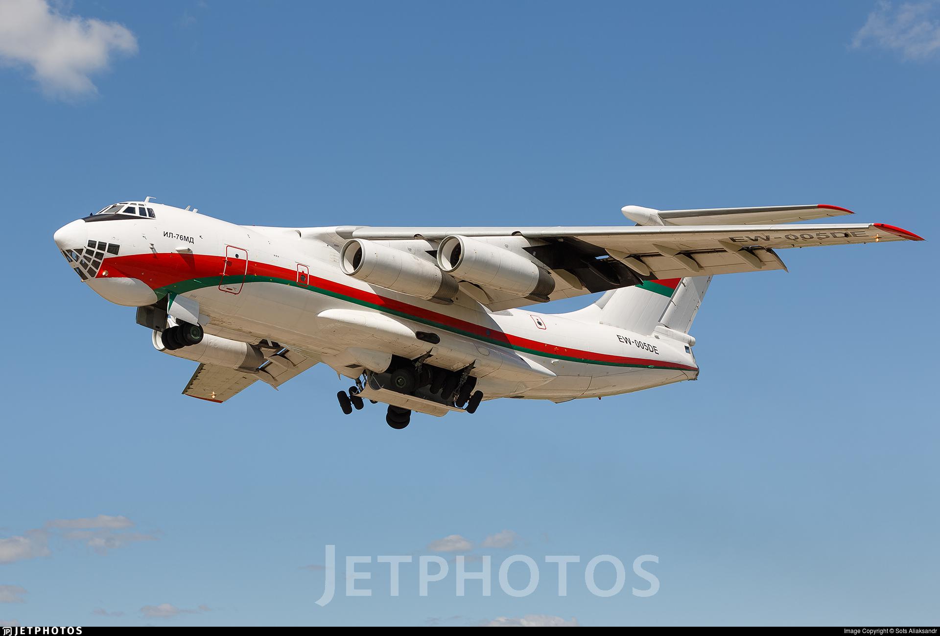 EW-005DE - Ilyushin IL-76MD - Belarus - Air Force