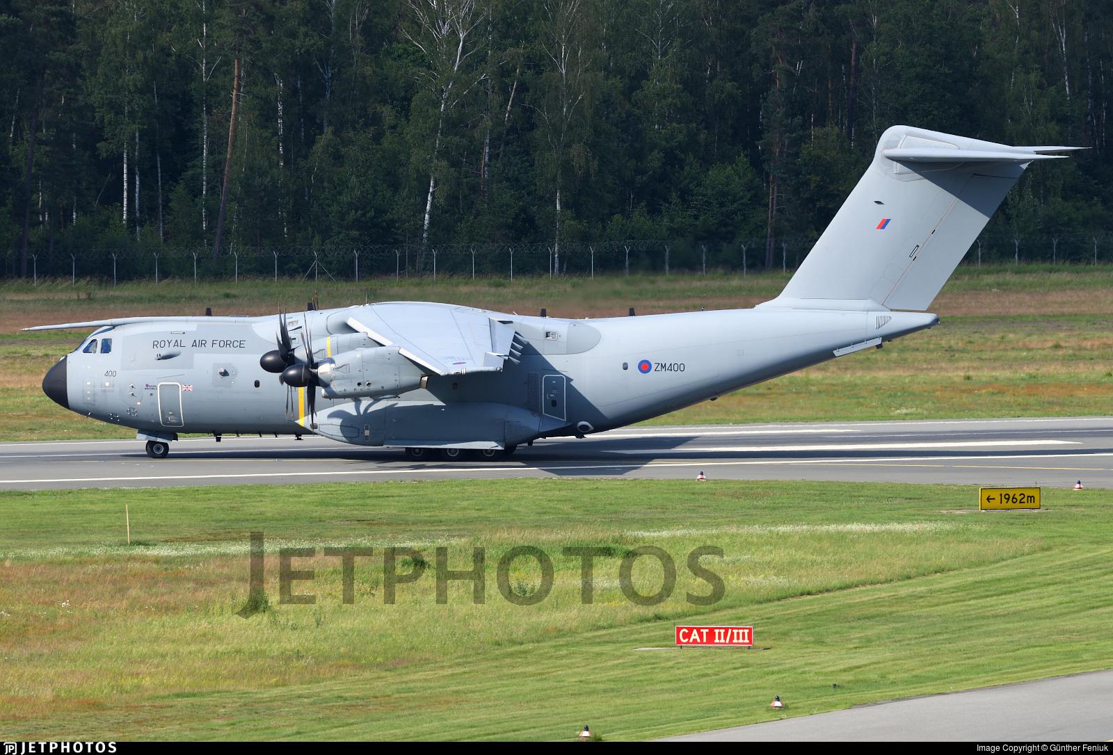 ZM400 - Airbus A400M Atlas C.1 - United Kingdom - Royal Air Force (RAF)