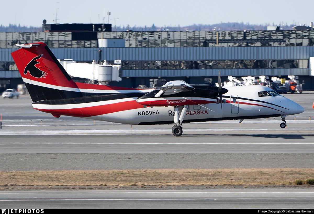 N889EA - Bombardier Dash 8-106 - Ravn Alaska