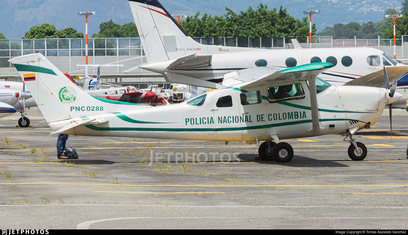 PNC-0288 - Cessna TU206G Turbo Stationair - Colombia - Police